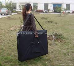 massage table carry bag carry bag with wheels for massage table and chair cb 002 comfort