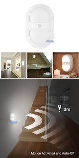 motion sensor bathroom night light energy saving led light 10led