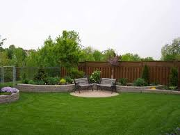 Designing A Backyard Landscape Charming Outdoor Landscaping Decoration Ideas Cool