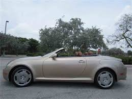 lexus for sale fl 2003 lexus sc430 for sale classiccars com cc 987607