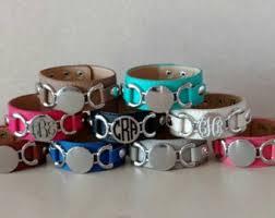 monogrammed cuff bracelet personalized bracelet monogram bracelet initial bracelet