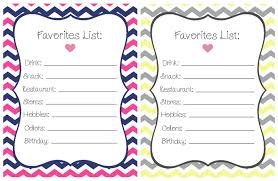 pre k tweets freebie printable chevron teacher favorites list
