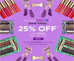 thanksgiving sales 2014 the dimpled tarte cosmetics u0027 black friday 25 off sale