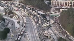 Map Of Atlanta Traffic by Area Couple Stranded In Snowy Atlanta Traffic Jam Youtube