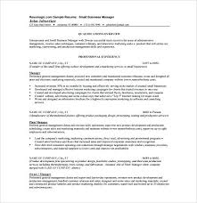 resume exles for free small business owner resume exles