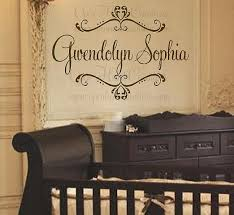 Personalized Nursery Wall Decals Wall Decal Design Personalized Name Wall Decals For Nursery