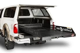 nissan titan camper shell cargo management and bed slides h u0026h home and truck accessory