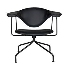 Lounge Chair Dimensions Ergonomics Masculo Lounge Chair Swivel By Gubi Yliving