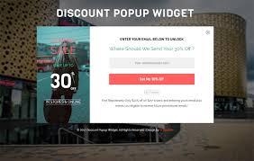discount popup widget flat responsive widget websablon