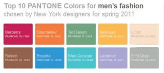 comparison mens womens spring fall colors 2011