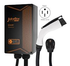 nissan leaf charging cable juicebox 40a plug in electric car vehicle charger charging station