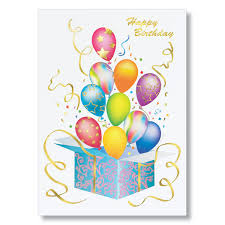 birthday cards bursting balloons birthday cards