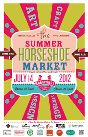 summer horseshoe craft u0026 flea market poster 2012 horseshoe