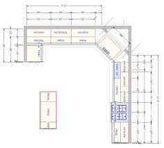 Kitchen Cabinets Layout Design Kitchen Floor Plans Trends Also Dbbffcbdbf With Images