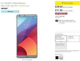 best black friday 2017 deals for verizon deal verizon lg g6 can be yours for just 288 at best buy 384