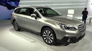 2017 subaru outback 2 5i limited 2016 subaru outback awd exterior and interior geneva motor