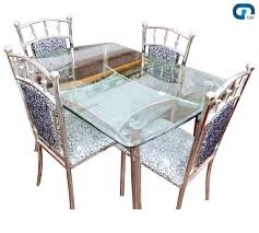 stainless steel table and chairs ss dining table set at rs 15000 set s stainless steel dining