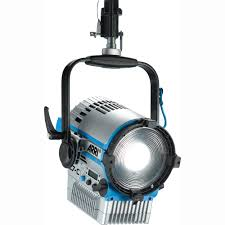 arri l7 c color led fresnel silver blue hanging l1 31330cb