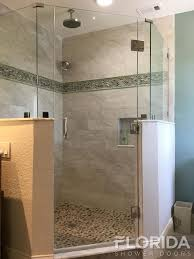 Angled Glass Shower Doors Shower Doors Custom Frameless Shower Doors Florida Shower Doors