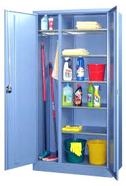 storage cabinets for mops and brooms broom and mop storage cabinet south shore narrow storage cabinet mop