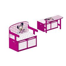 bureau coffre 3 en 1 coffre jouet minnie stunning smoby poussette pour poupe minnie