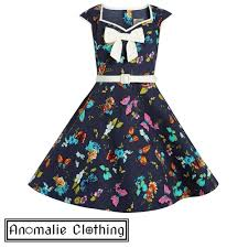 navy blue butterfly mini alanis children u0027s dress by lindy bop
