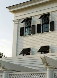 Bahama Awnings Two Kinds Of Exterior Shutters Ideas For The House Pinterest