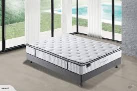 mattress double size mattress with latex u2013 pillow top mattress