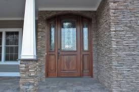 French Doors With Opening Sidelights by Arched Doors Exterior Arched Top Doors Mahogany Door
