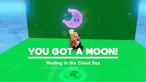 Red Black And Green Flag With Moon And Star Super Mario Odyssey Seaside Kingdom Moon Locations All Secrets