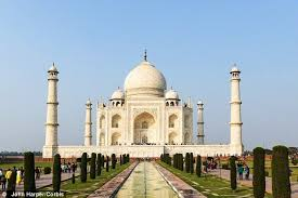 the taj mahal u0027s gardens align with the sun daily mail online