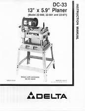 delta dc 380 planer manual york minster