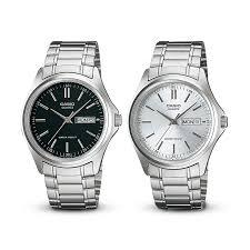 Jam Tangan Casio jam tangan casio analog mtp 1239 d series daydate display