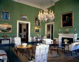 White House Dining Room White House Rooms Blue U0026 Green John F Kennedy Presidential