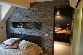 chambre avec salle de bain suite parentale avec salle de bain ouverte fair intérieur propriété