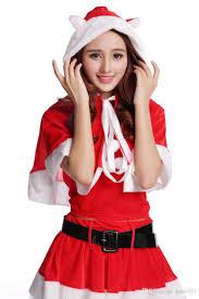 2016 new arrival christmas cosplay dress christmas clothing