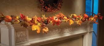 fall garland 70 led lighted fall autumn pumpkin maple leaves garland