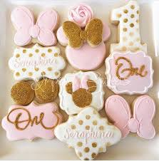 Pink And Black Minnie Mouse Decorations Best 25 Minnie Mouse Cookies Ideas On Pinterest Minnie Mouse
