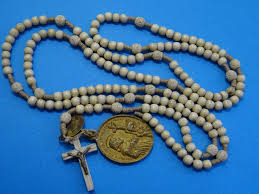 15 decade rosary antique 15 decade rosary bone monastery 1880