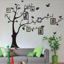stickers chambre 2017 chaude cadre arbre stickers muraux musulman vinyle maison