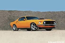 1969 mustang always grabber orange modified mustangs fords