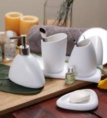 White Bathroom Accessories Ceramic by Bathroom Sets Online Buy Bath Sets In India At Best Prices