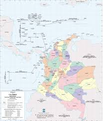 Colombian Map Colombia Home
