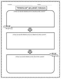 bundle stellaluna graphic organizers spanish english by liz u0027s