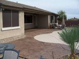 Concrete Backyard Ideas Stylish Concrete Backyard Ideas Stamped Concrete Patio Ideas Patio