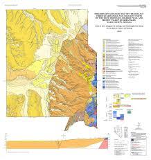 Nevada County Map Preliminary Geologic Map Of The Heelfly Creek Quadrangle And