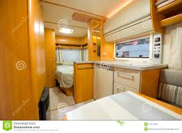 Motor Home Interiors Inside Motor Home Detail Stock Image Image 17077381