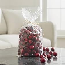 Fruit Vase Filler Cranberry Bowl Filler Crate And Barrel