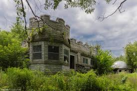 an abandoned house in ontario canada that was built to look like