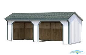 Horse Barn Blueprints 100 12 24 Loafing Shed Plans Run In Sheds Horse Exceptional